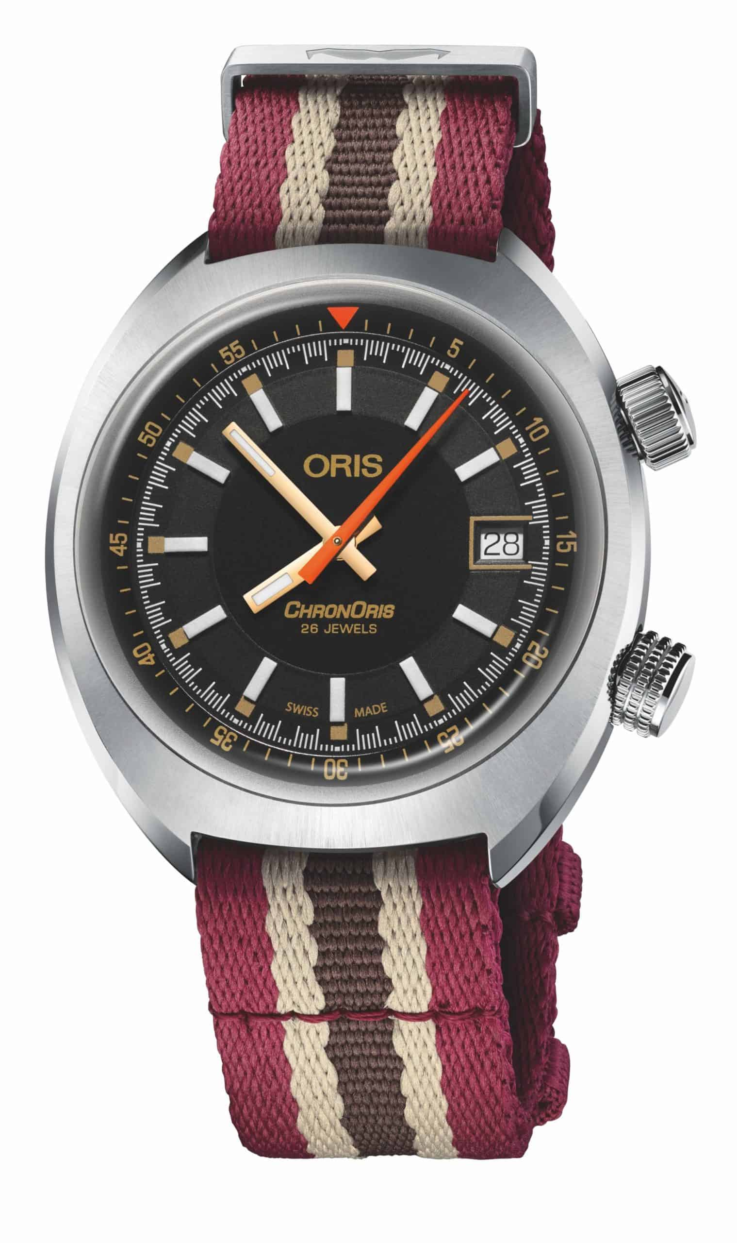 Oris Chronoris Movember Edition 2019 01 733 7737 4034 Natostrap scaled