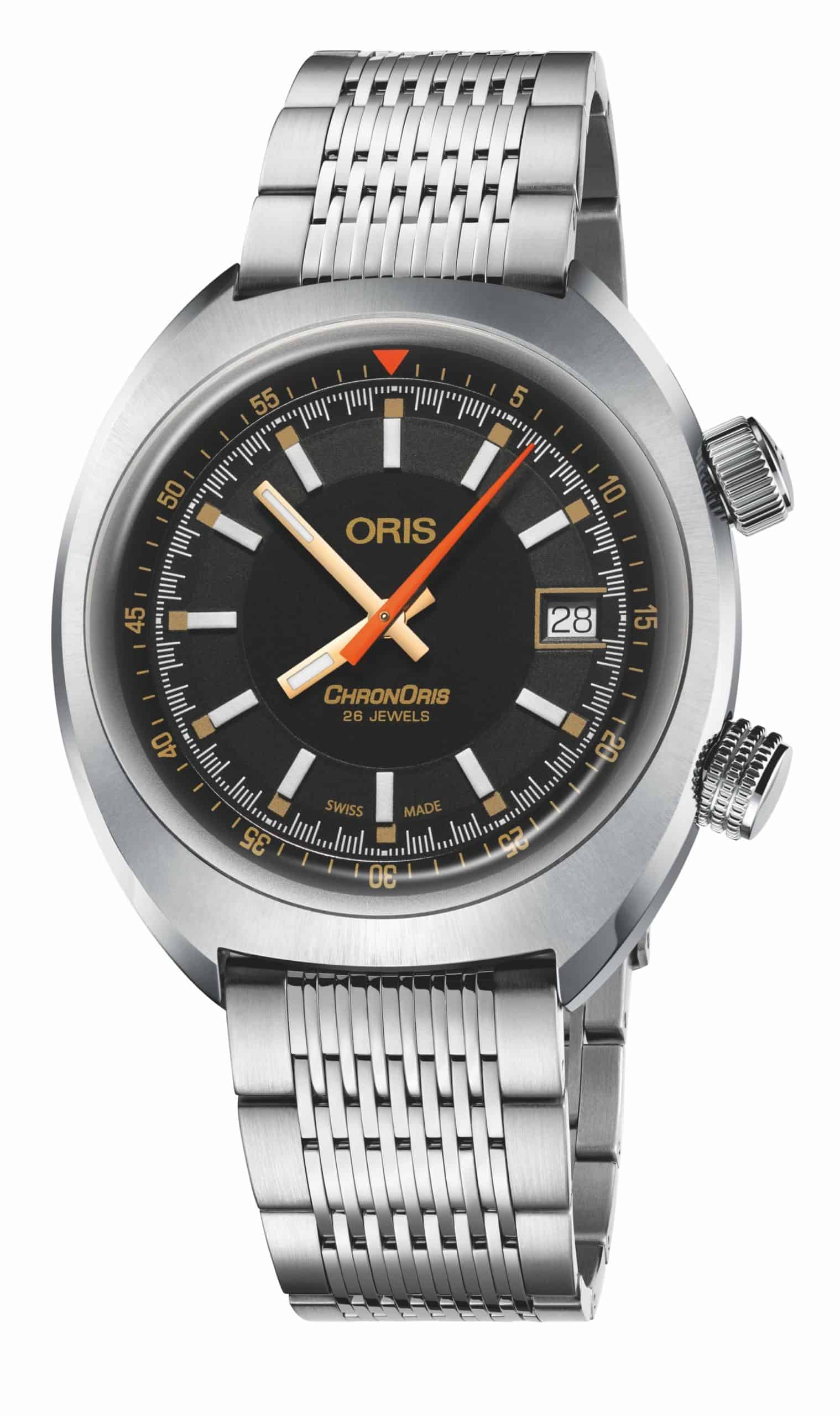 Oris Chronoris Movember Edition 2019 01 733 7737 4034 Stahlband scaled
