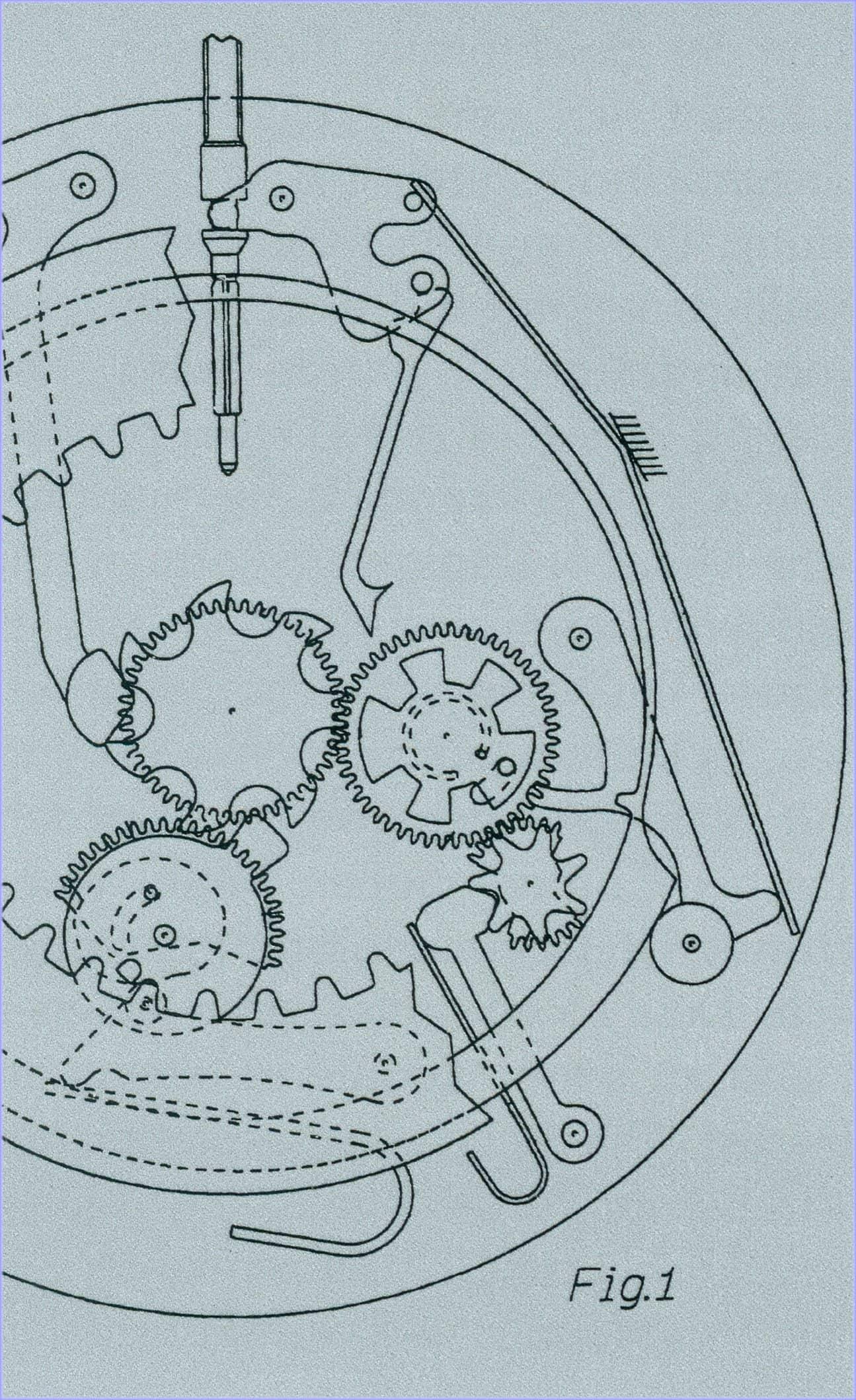 Rolex Sky Dweller Patent 1