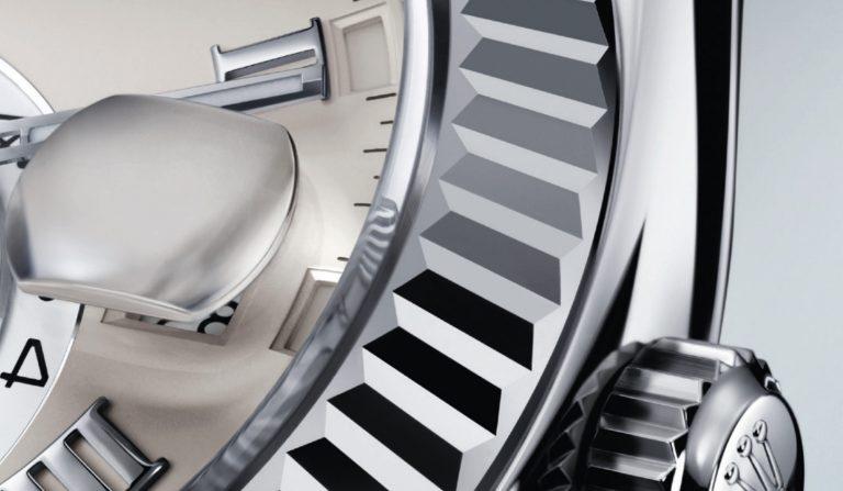 Zyklolupe der Rolex Sky-Dweller - die Rolex Innovation ermöglicht ein gutes Ablesen