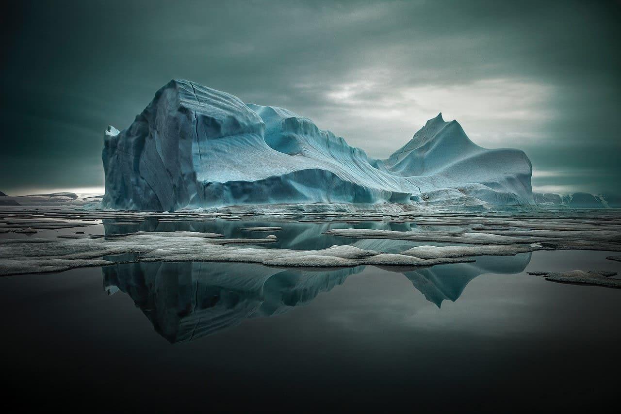 Sebastion Copeland beschreibt die Schönheit der Antarctis in seinen Bildern
