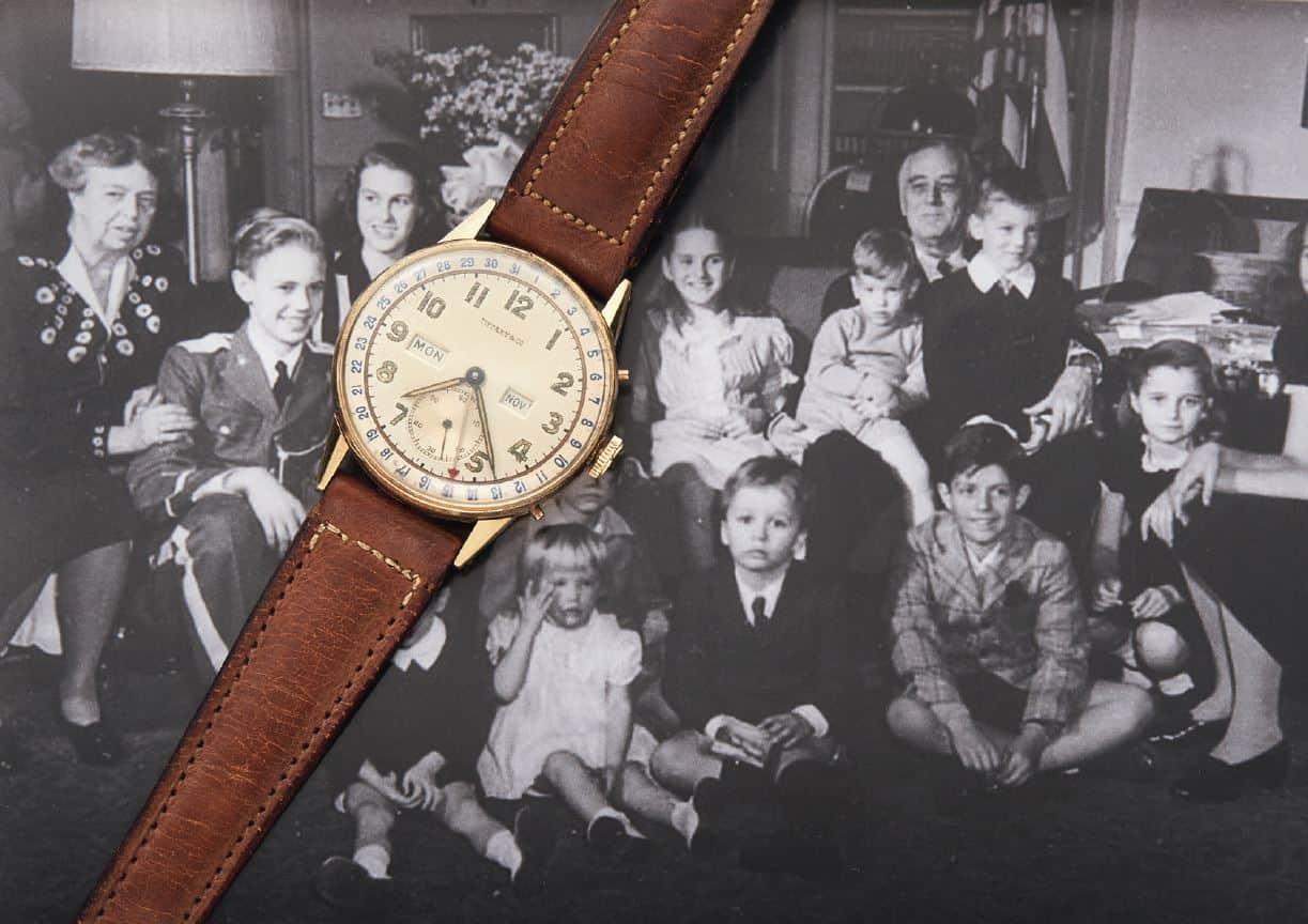 Tiffany Armbanduhr für Franklin D. Roosevelt 3