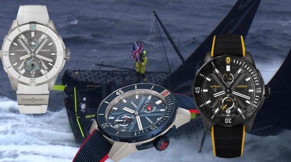 Drei Armbanduhren für die härteste Segelregatta der Welt