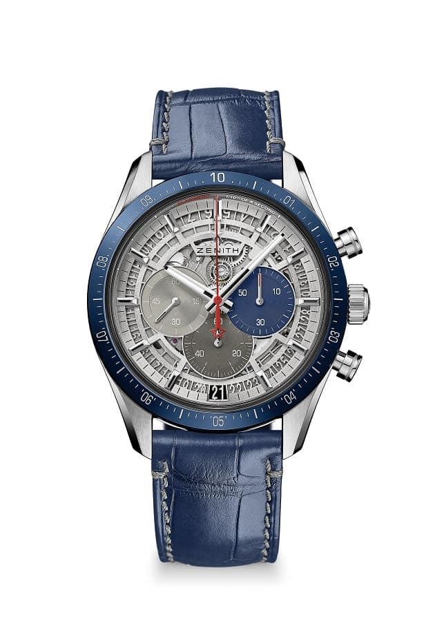 Zenith Chronomaster 2 Blue 9.600 EUR Referenz 95.3001.3600.69.C818