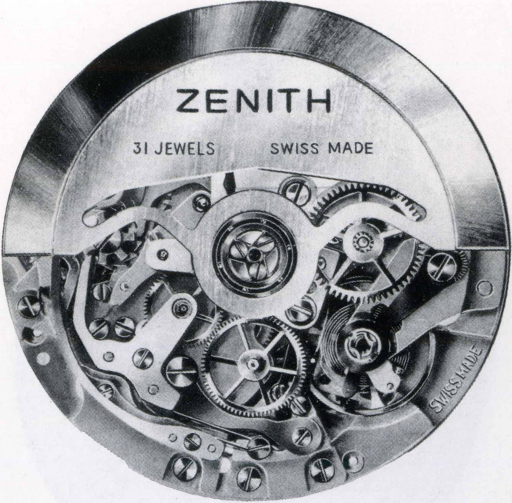 Zenith El Primero 3019 PHC mit Rotor Foto Zenith