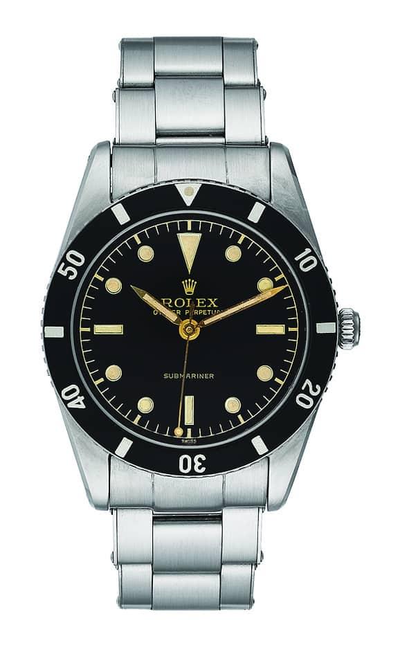 Tie Rolex Submariner von 1952 war ein großer Erfolg