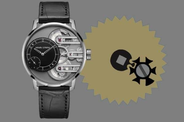 Armin Strom zeigt den Wert eines Malteserkreuz