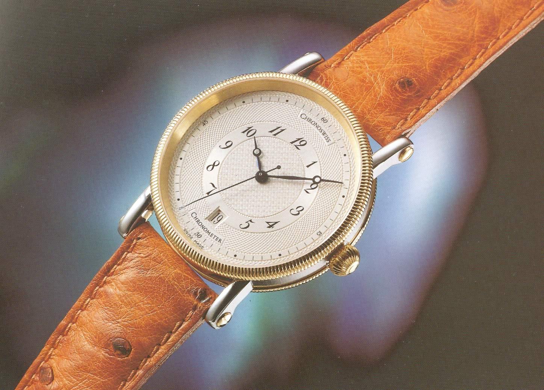 Der Chronoswiss Chronometer hatte COSC Zertifikat