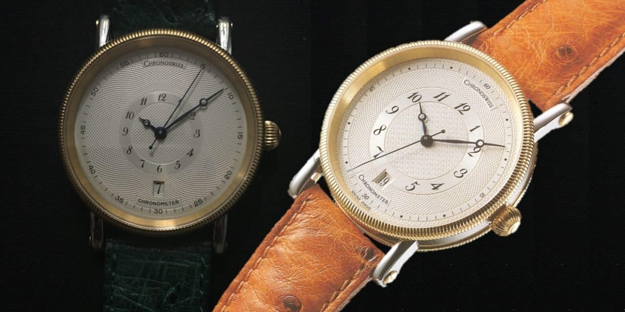 Diesen Chronoswiss Chronometer CH2822 hat Gerd-Rüdiger Lang nur einmal gebaut!