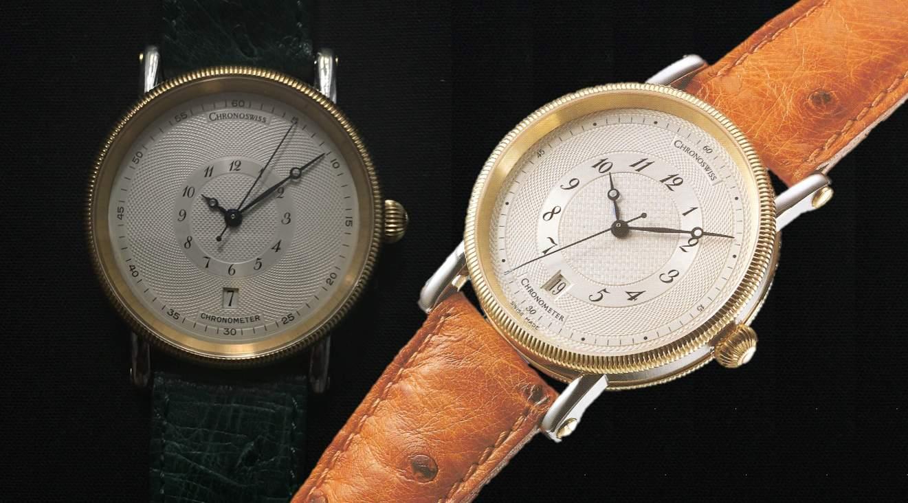 Chronoswiss Chronometer  Referenz CH2822 Prototyp UnikatDiesen Chronoswiss Chronometer CH2822 hat Gerd-Rüdiger Lang nur einmal gebaut!