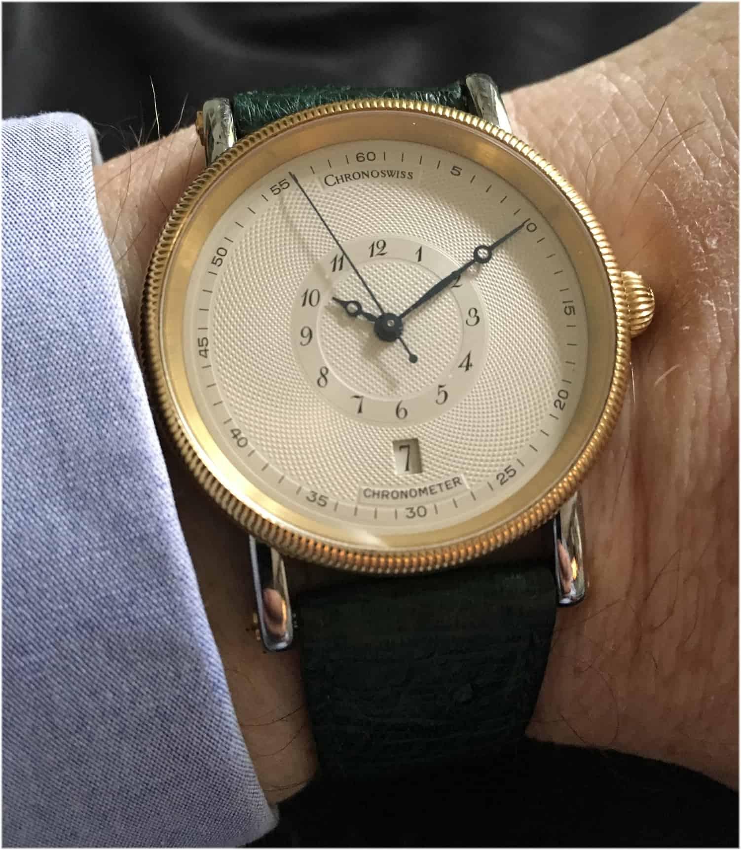 """Eine """"einzigartige"""" Uhr von Chronoswiss"""