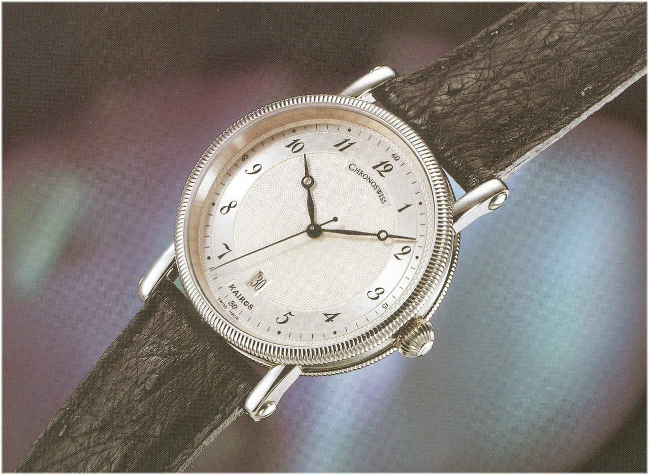 Das schlichte Chronoswiss Uhrenmodell Kairos