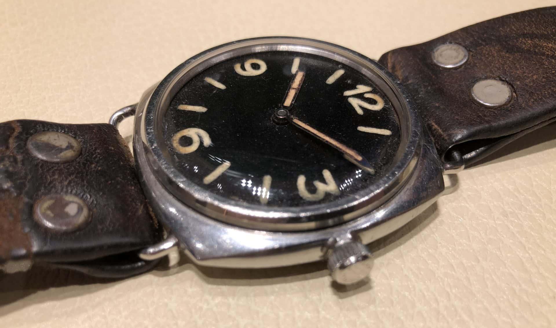 """Das kissenförmige """"Oyster""""-Gehäuse mit Schraubkrone wie das Handaufzugswerk 618 von Cortéber kamen von Rolex"""