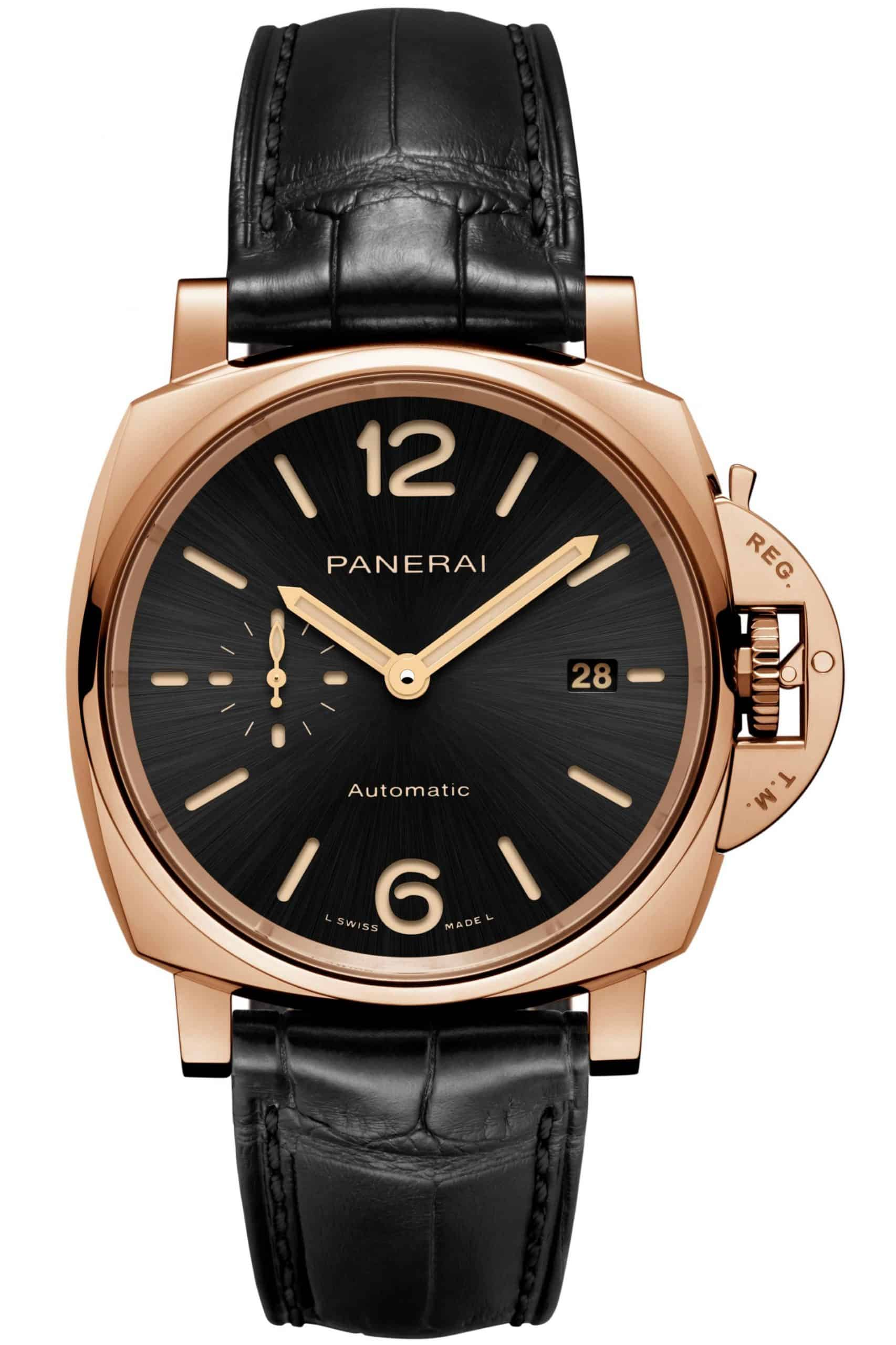 Elegantes Gold der Officine Panerai Luminor Due Goldtech