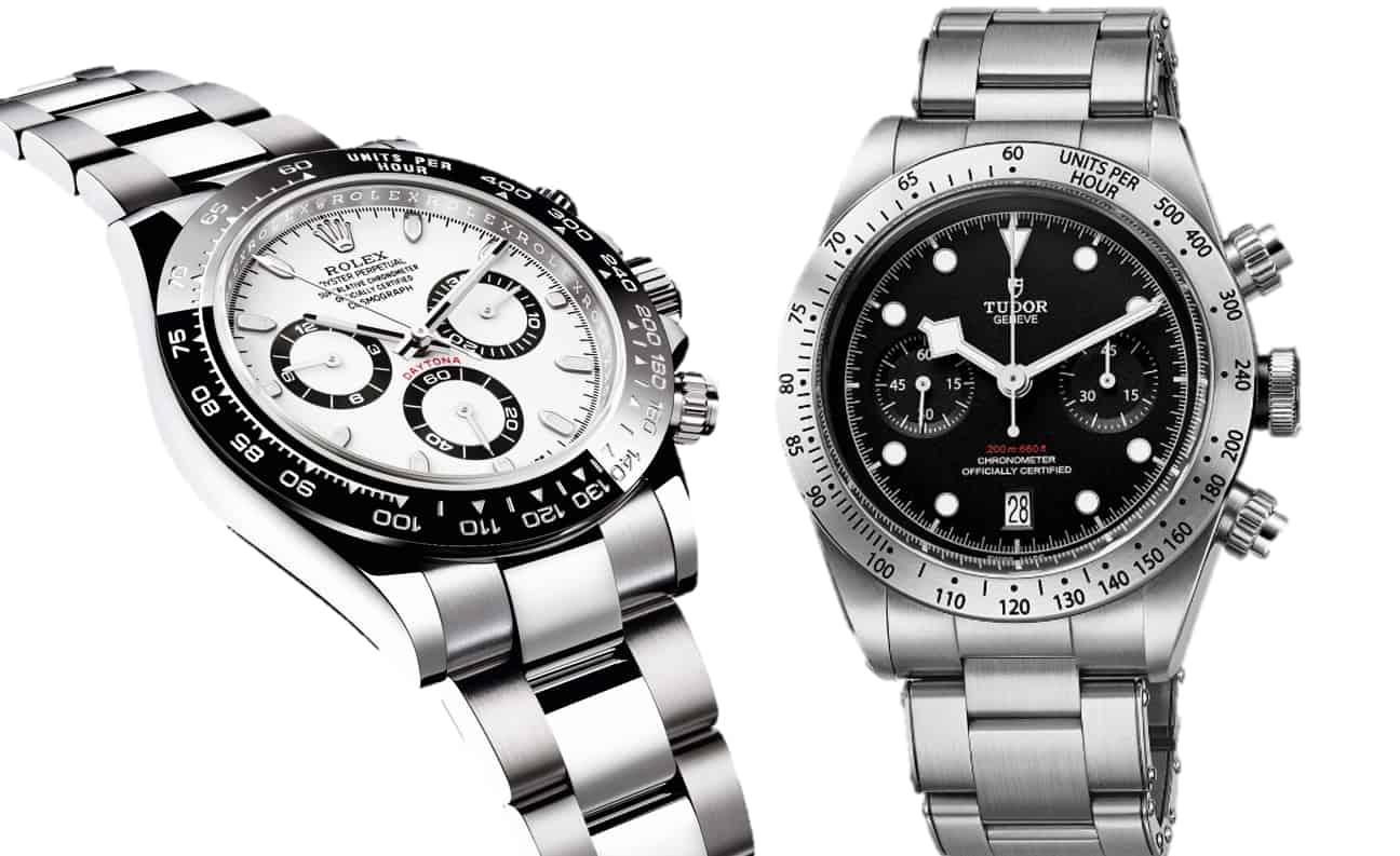 Tudor Black Bay Chronographen versus Rolex Cosmosgraph Daytona