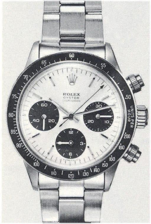 """Eine alte Rolex """"Daytona"""", Referenz 6263/0 natürlich ohne Datum"""