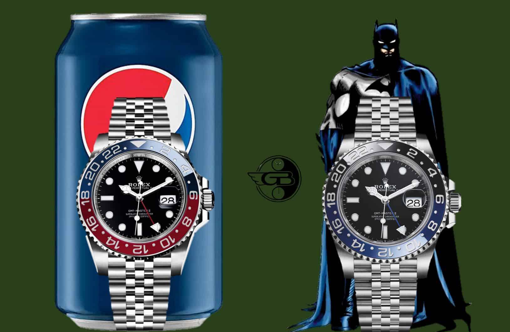 Pepsi oder Batman? Sie haben die Wahl.