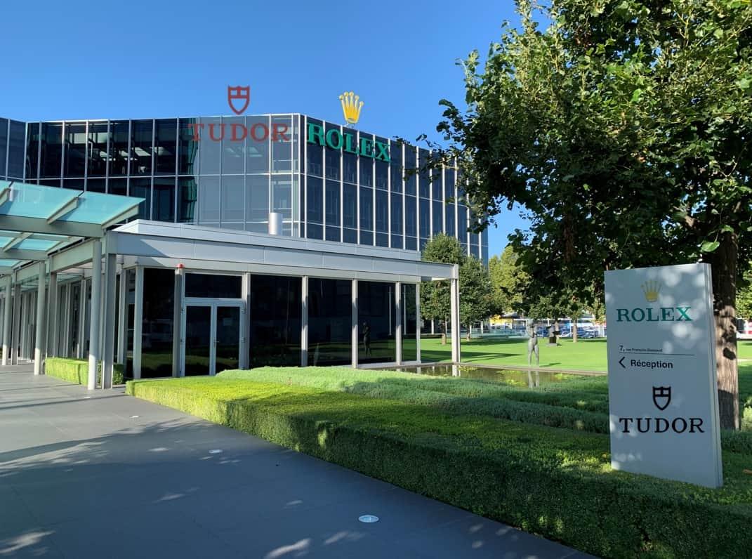 Ein Besuch der Tudor Werke-Produktion in Genf