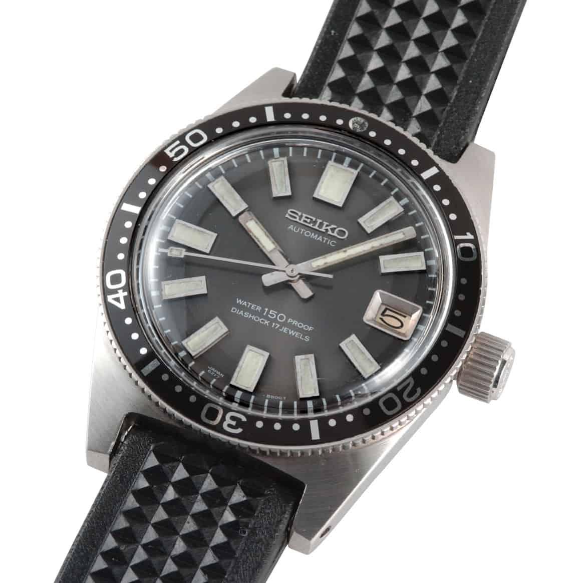 Seiko Divers erste japanische Raucher Armbanduhr 1965