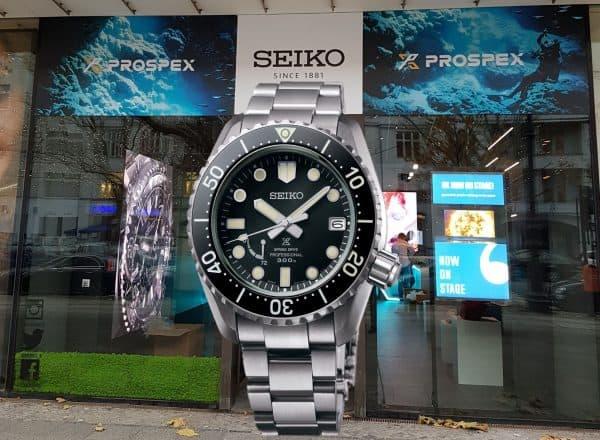 """Aufgetaucht: Seiko öffnet den """"Prospex"""" Pop Up Store"""