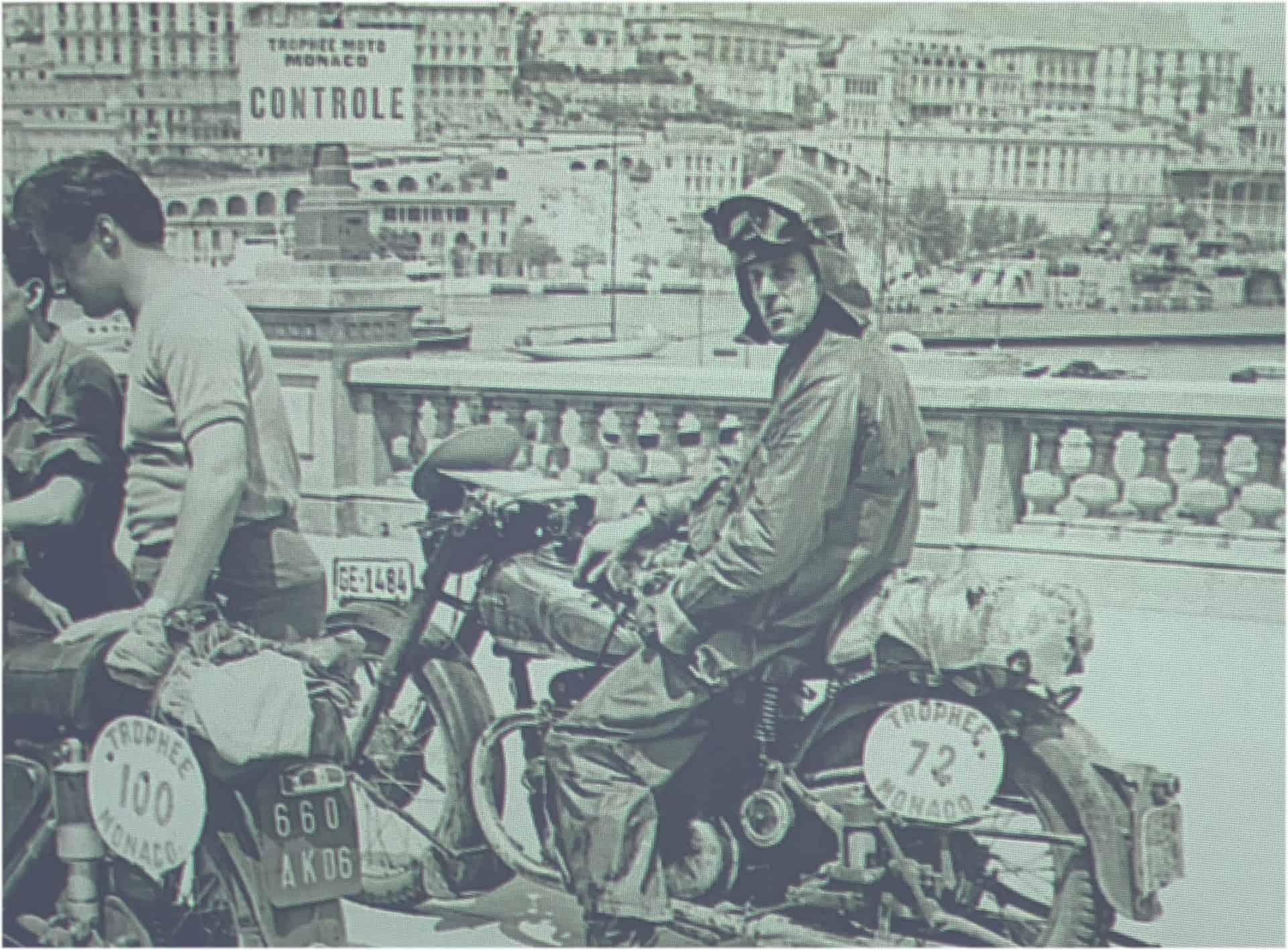 Für den italienischen Markt wurde ein italienisches Testimonial , ein Motorradfahrer, eingesetzt