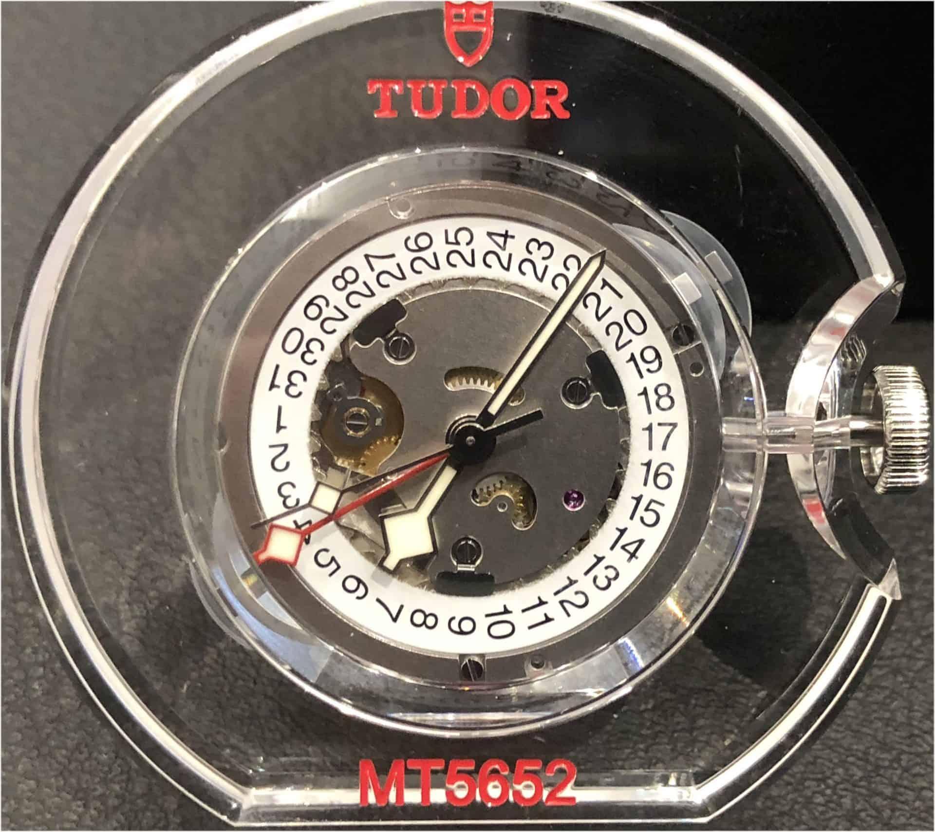 Das GMT Uhrwerk Tudor MT5652 bietet hohe Qualität