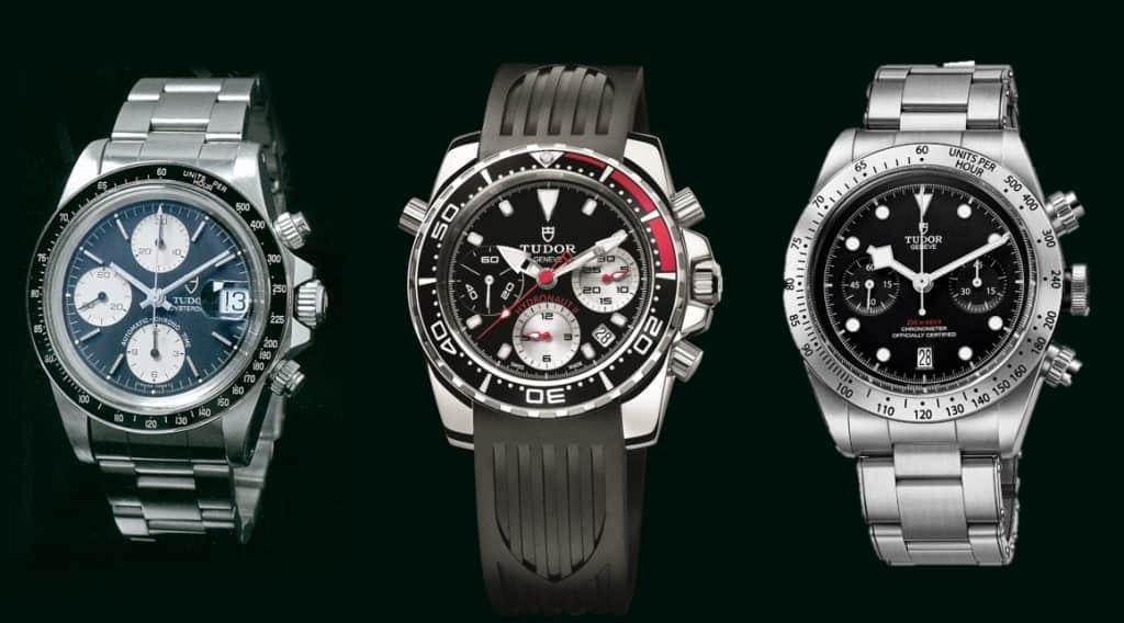 Die drei Tudorchronographen