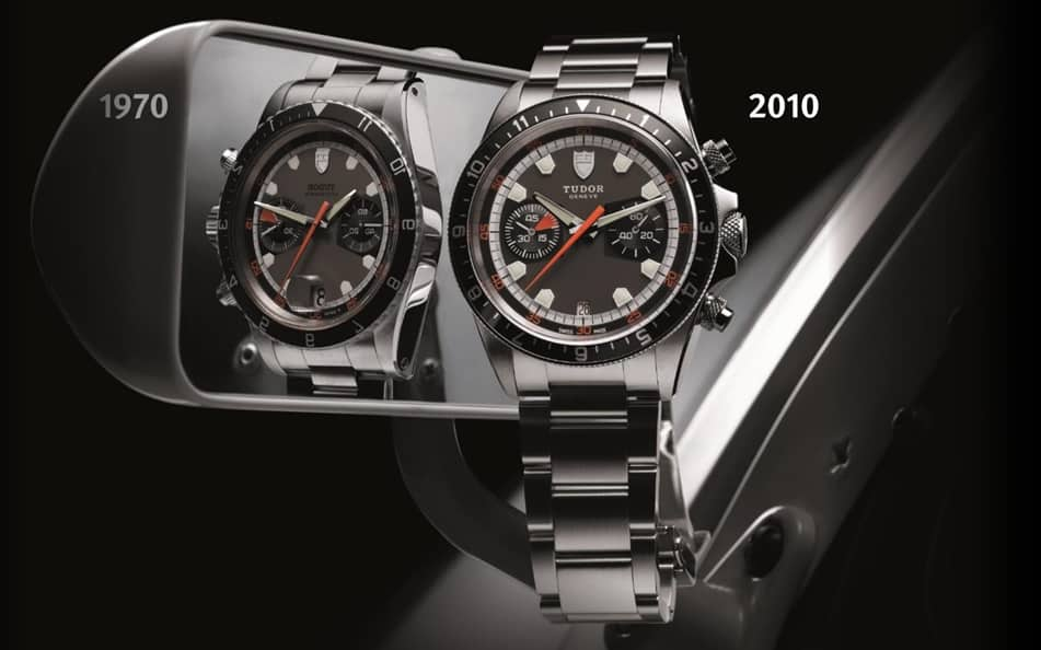 """Tudor Chronograph """"Heritage Chrono"""", Referenz 70330N"""