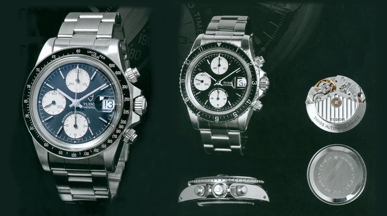 Die schönen Tudor Chronographen Referenz 79160, Hydronaut II und Black Bay Referenz 79350