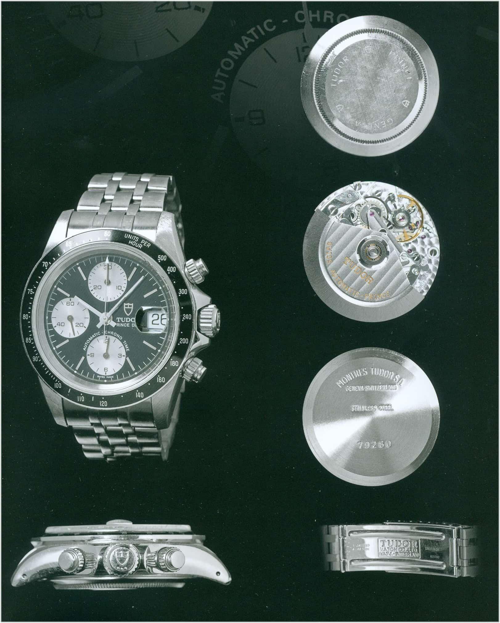 Tudor war nun die erkennbare Marke und die Rolex Bezüge fielen weg