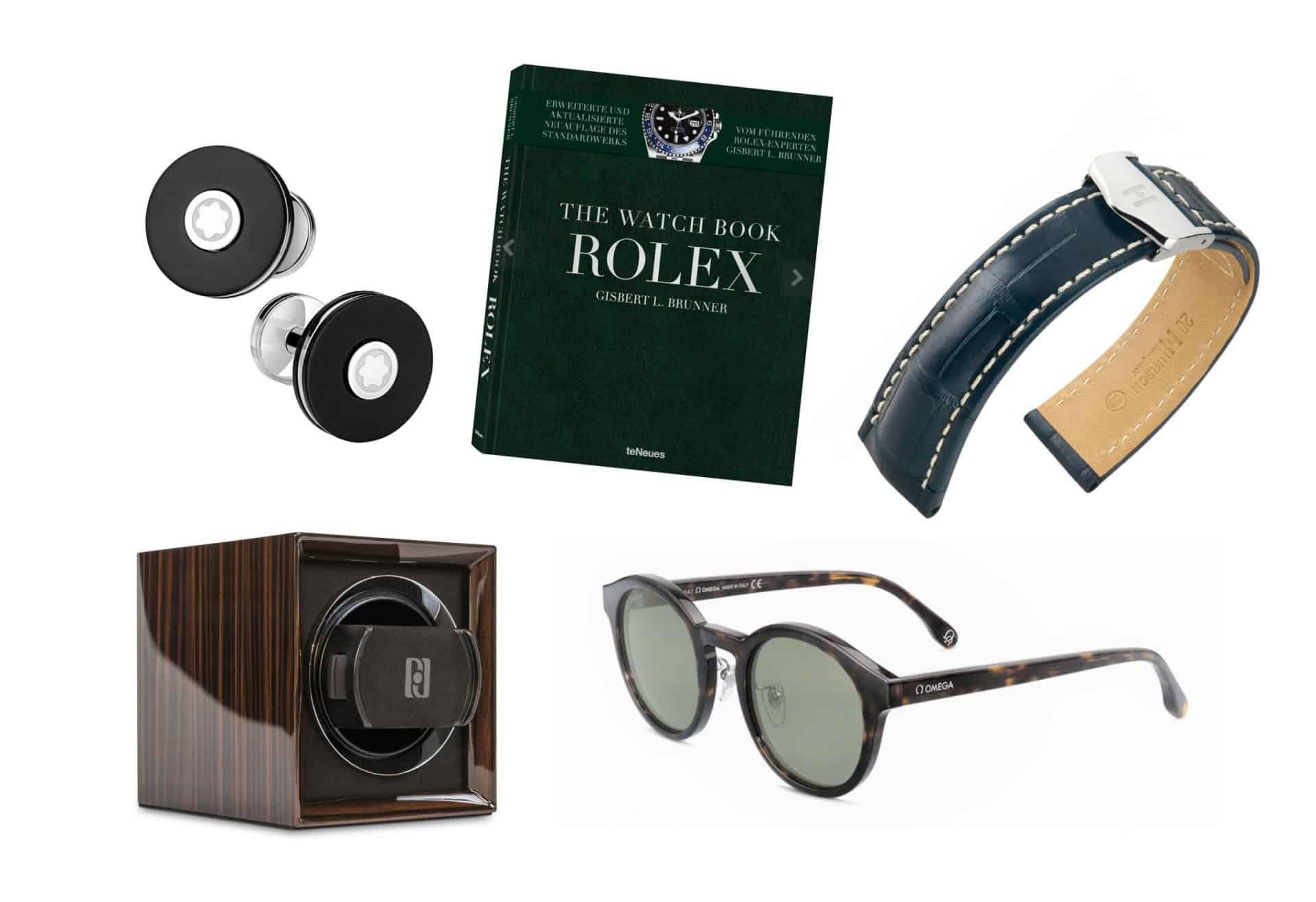 Passende Uhren-Accessoires zum Verschenken5 Geschenk-Ideen für Uhren-Liebhaber