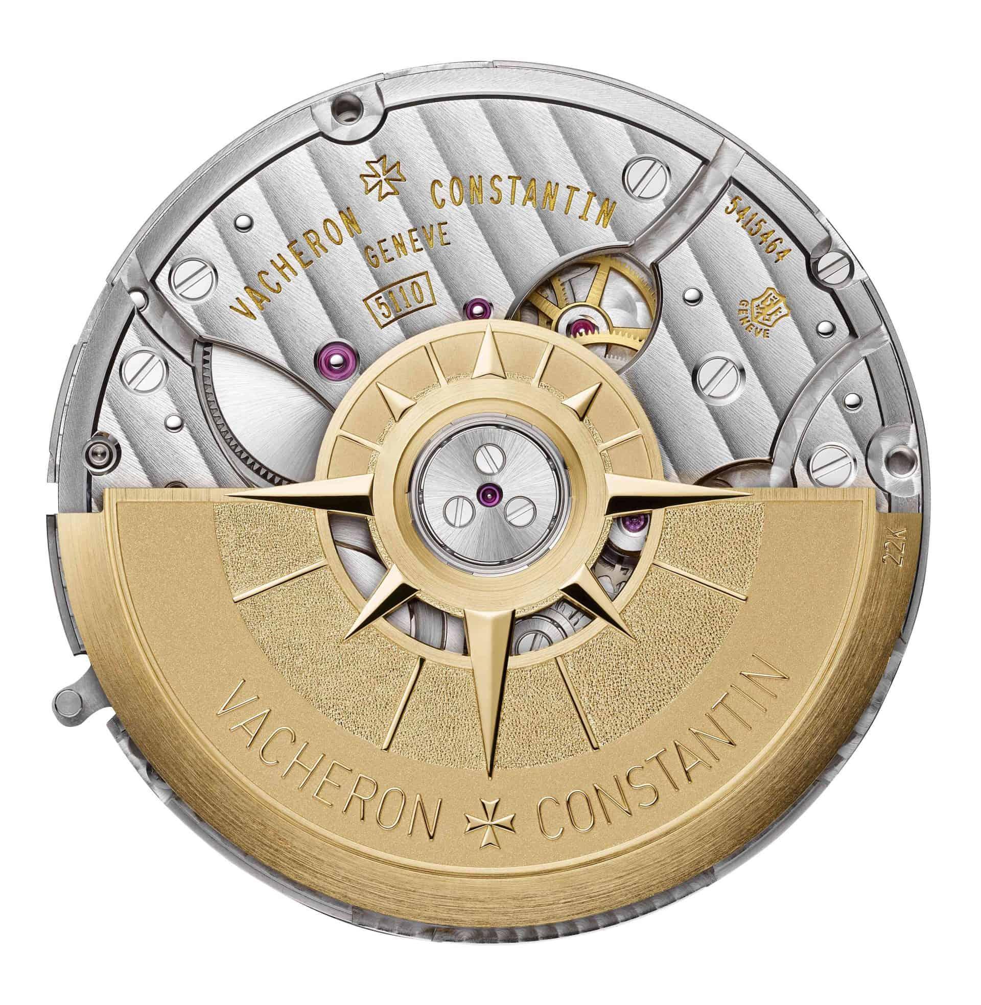 Vacheron Constantin calibre 5110dt dos tr 241067