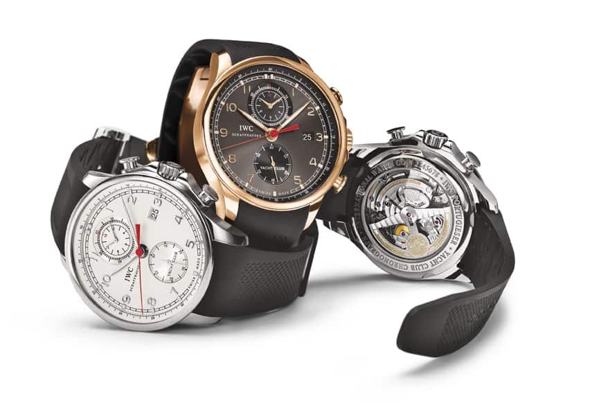 IWC Portugieser - drei Uhren der Yachtclub Reihe