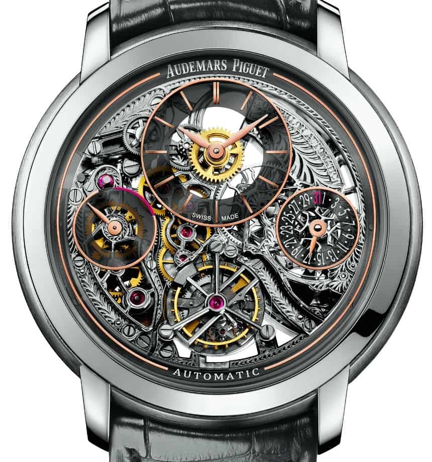 "Das skelettierte Audemars Piguet ""Jules Audemars Tourbillon Openworked"""