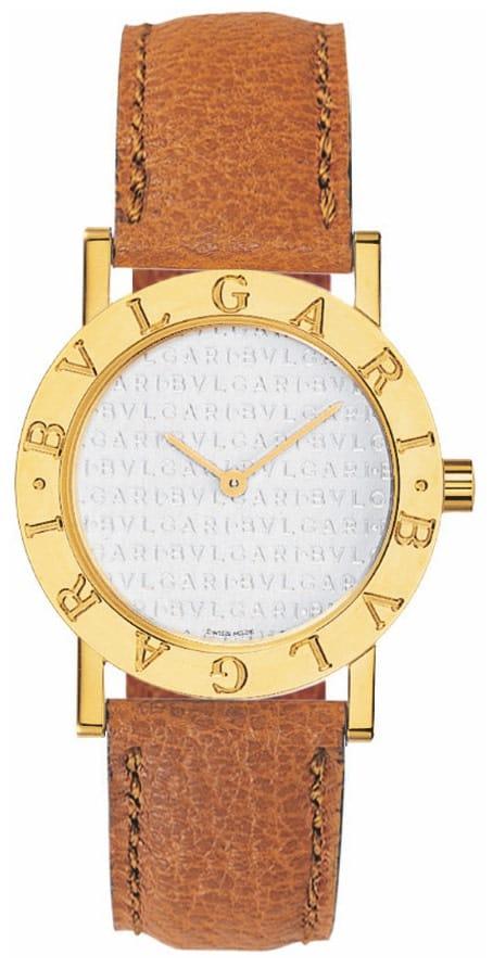 Das Bulgari Armbanduhren-Modell Bulgari Bulgari in Gold