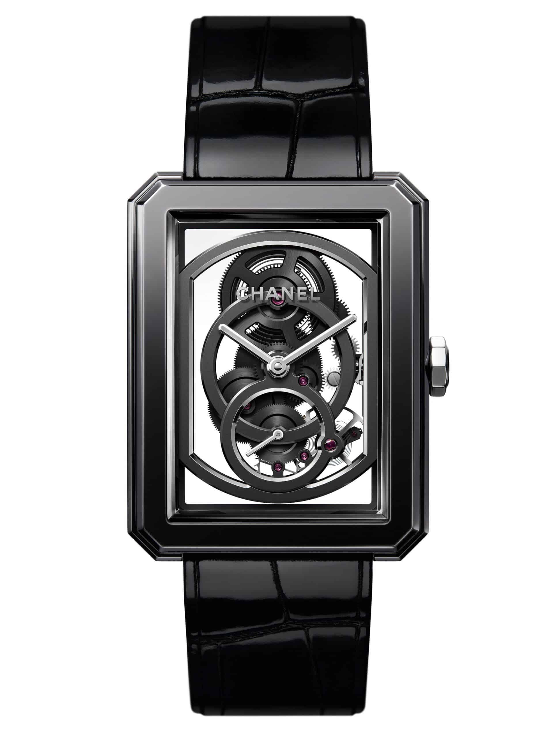 """Die beschwingte Leichtigkeit der skelettierten """"Boy-Friend Skeleton Edition Noire"""" von Chanel"""