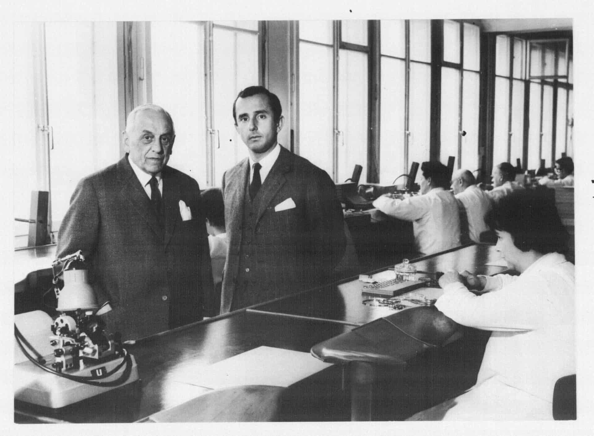 Jack W. Heuer hatte in seinem Vater ein strengen Lehrmeister