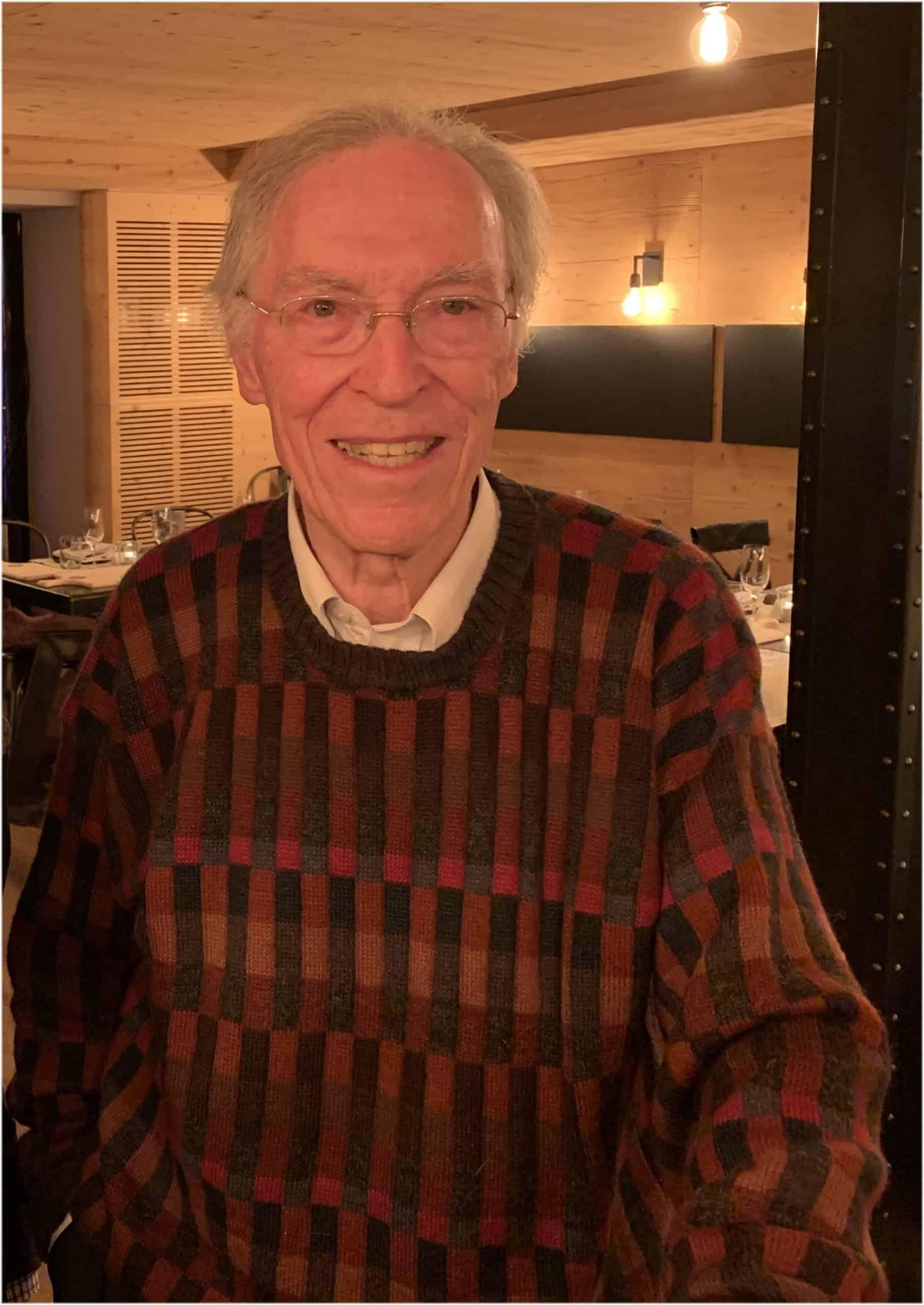 Der ehemalige Oris-Geschäftsführer Dr. Rolf Portmann