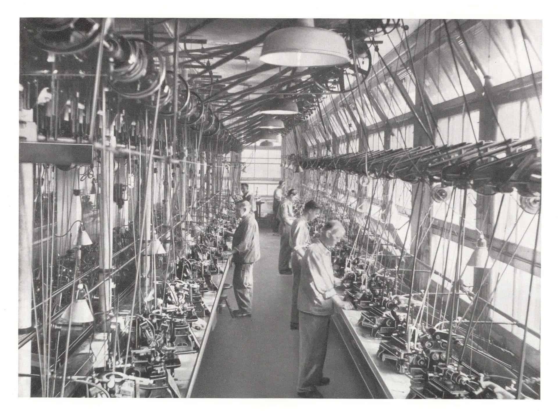 Die industrielle Rohwerkproduktion in der Uhrenindustrie
