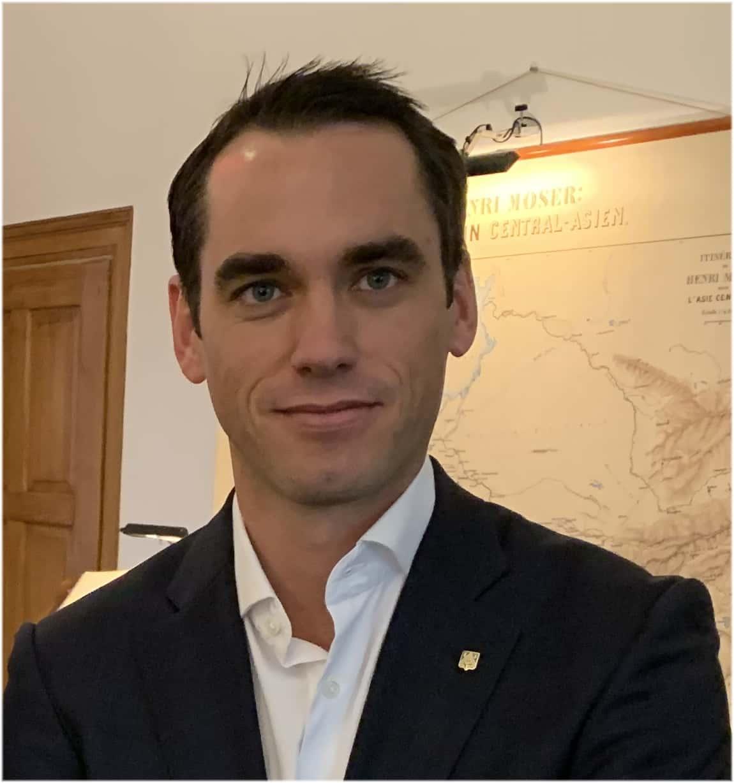 Edouard Meylan CEO H. Moser Cie.