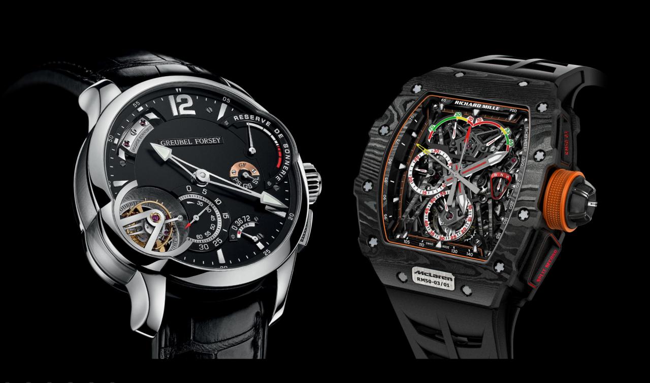 Der Luxus ultimativer Uhrmacherei