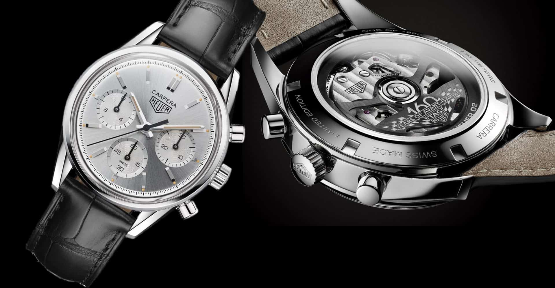 TAG Heur Carrera 160 Years Silver Edition