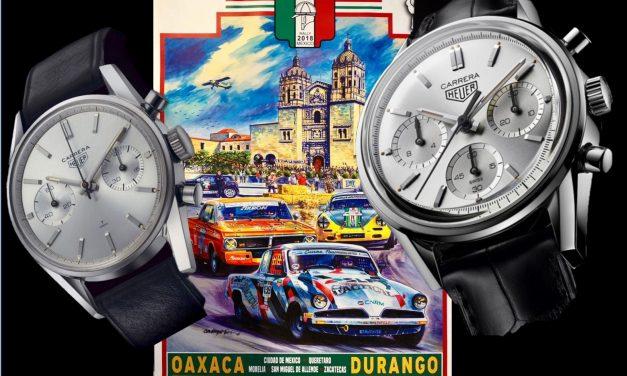 TAG Heuers Carrera Re-Edition für Rennsport-Begeisterte