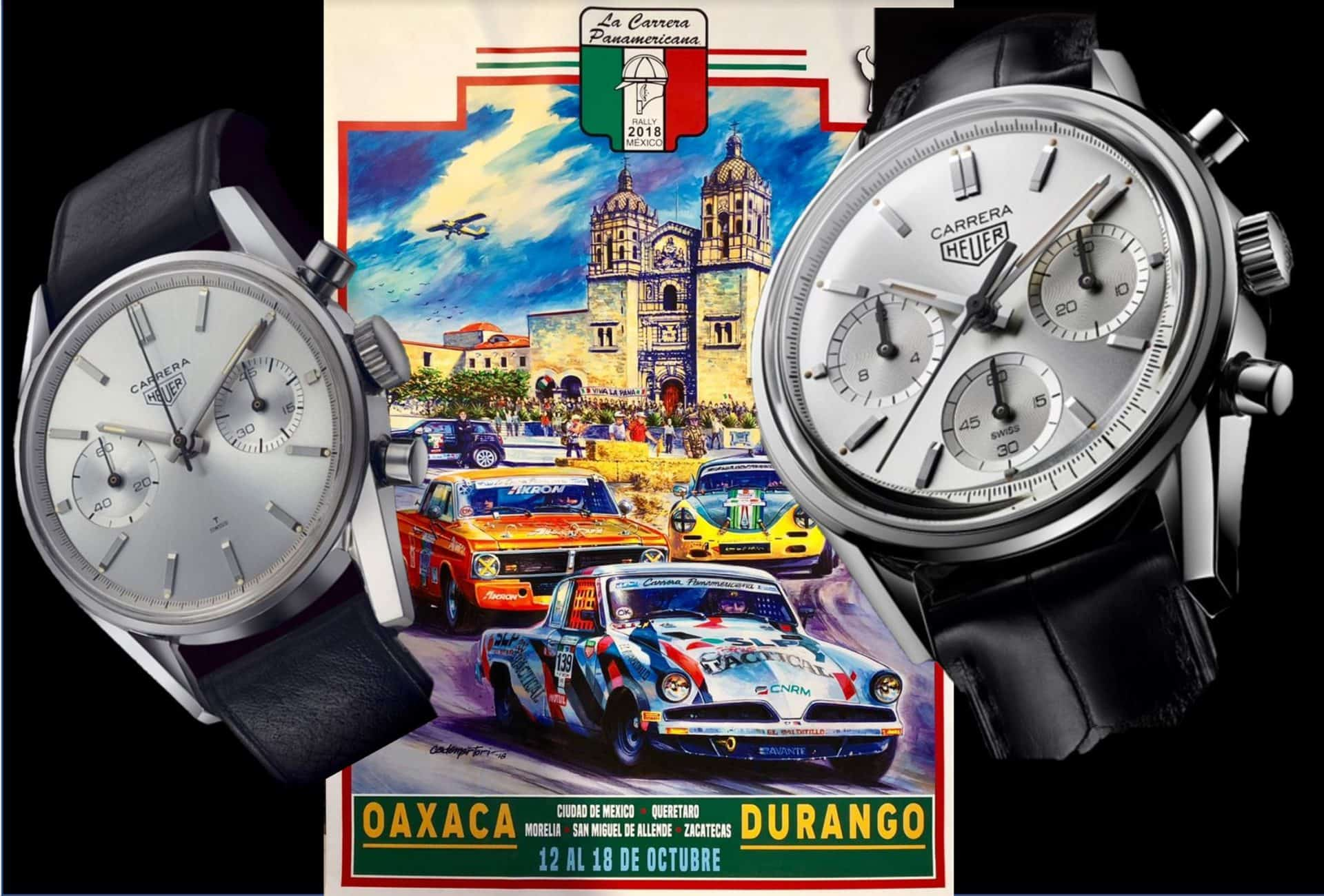 TAG Heuer Carrera 160 Years Silver Limited EditionTAG Heuers Carrera Re-Edition für Rennsport-Begeisterte