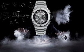 Hublot gürtet seine Big Bang in Metall