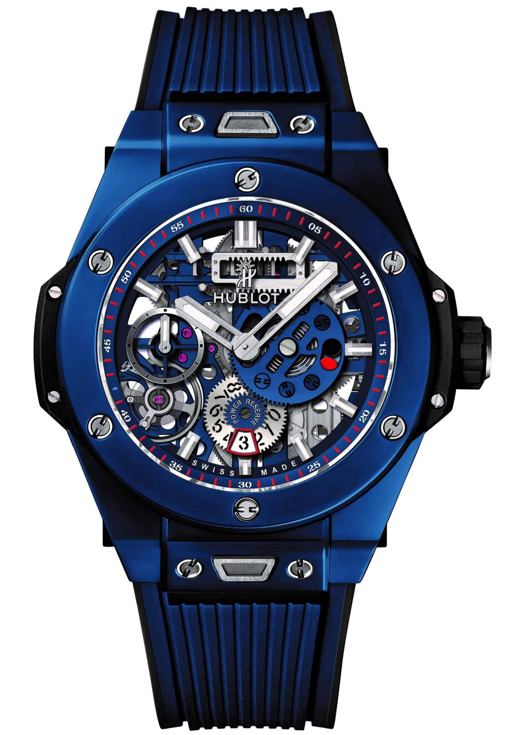 So Blau - die Big Bang Meca-10 Blue Ceramic mit skelettiertem Uhrwerk und Keramikgehäuse