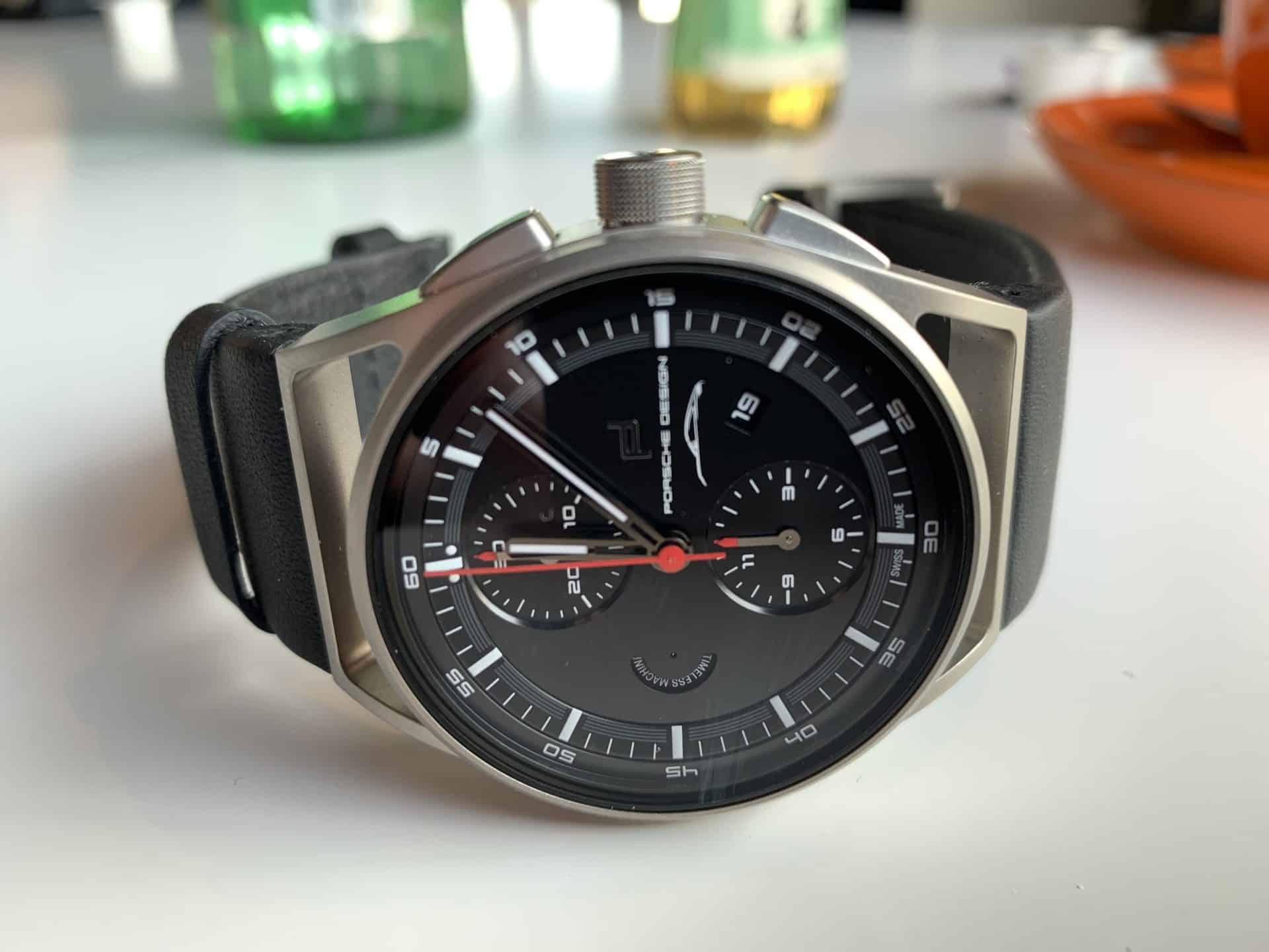 Titangehäuse der Porsche Design 911 Chronograph Timeless Machine