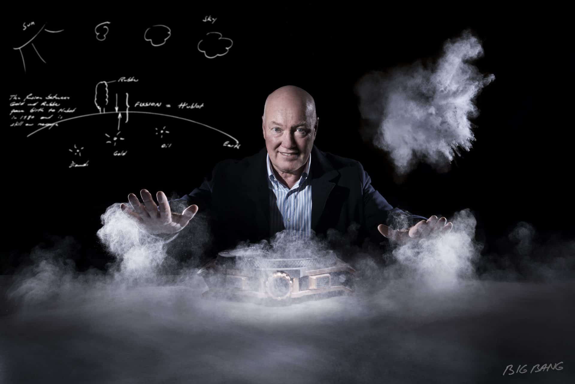 """Die Inszenierung von Jean-Claude Biver über die Kreation der """"Big Bang"""" Armbanduhr"""