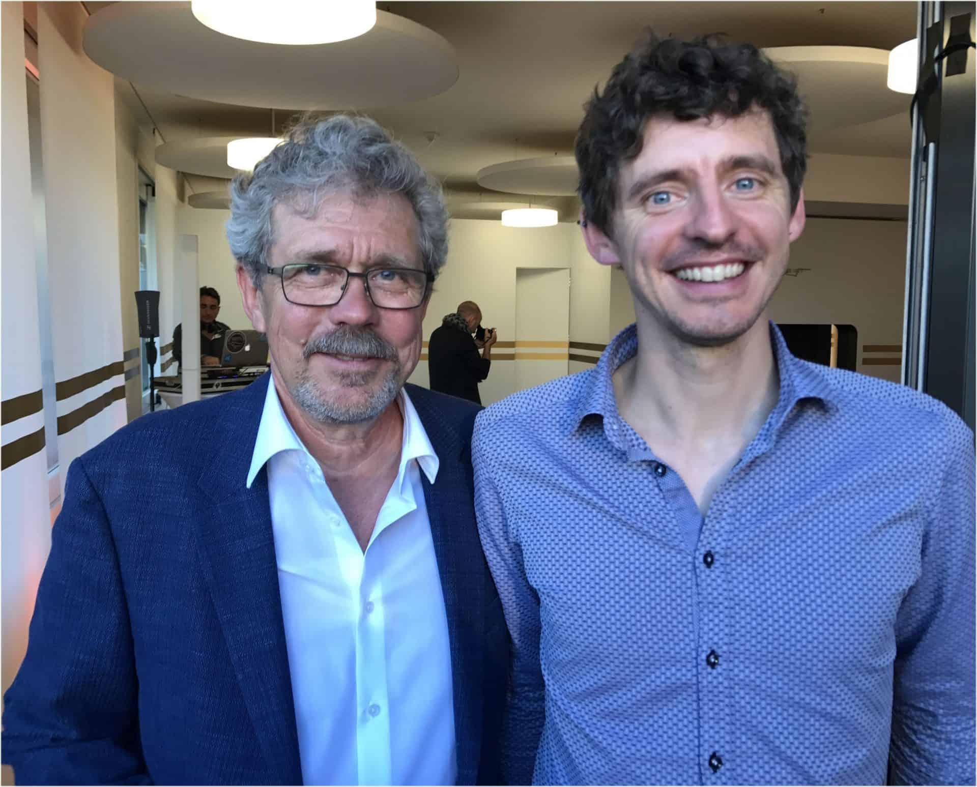 Jean Marc Wiederrecht und Sohn Nicolas