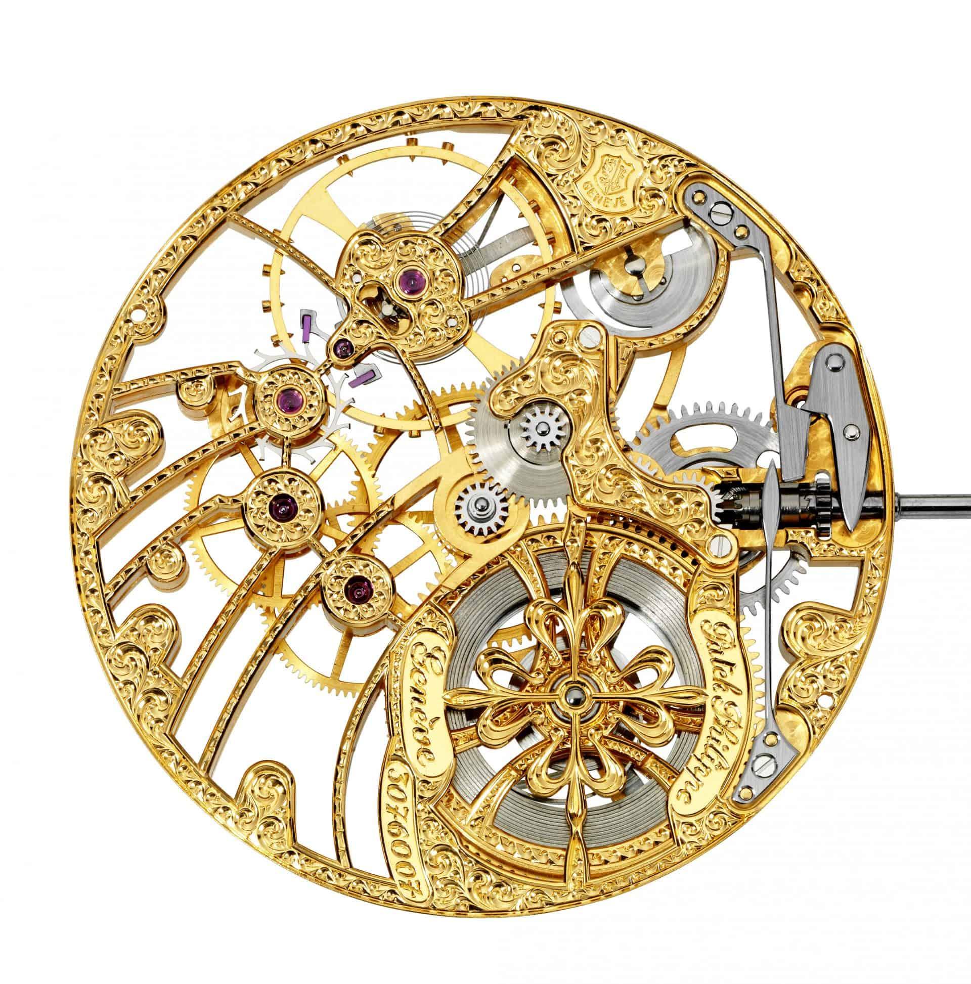 Das Kaliber 17 Lépine haben die Uhrmacher von Patek Philippe skelettiert